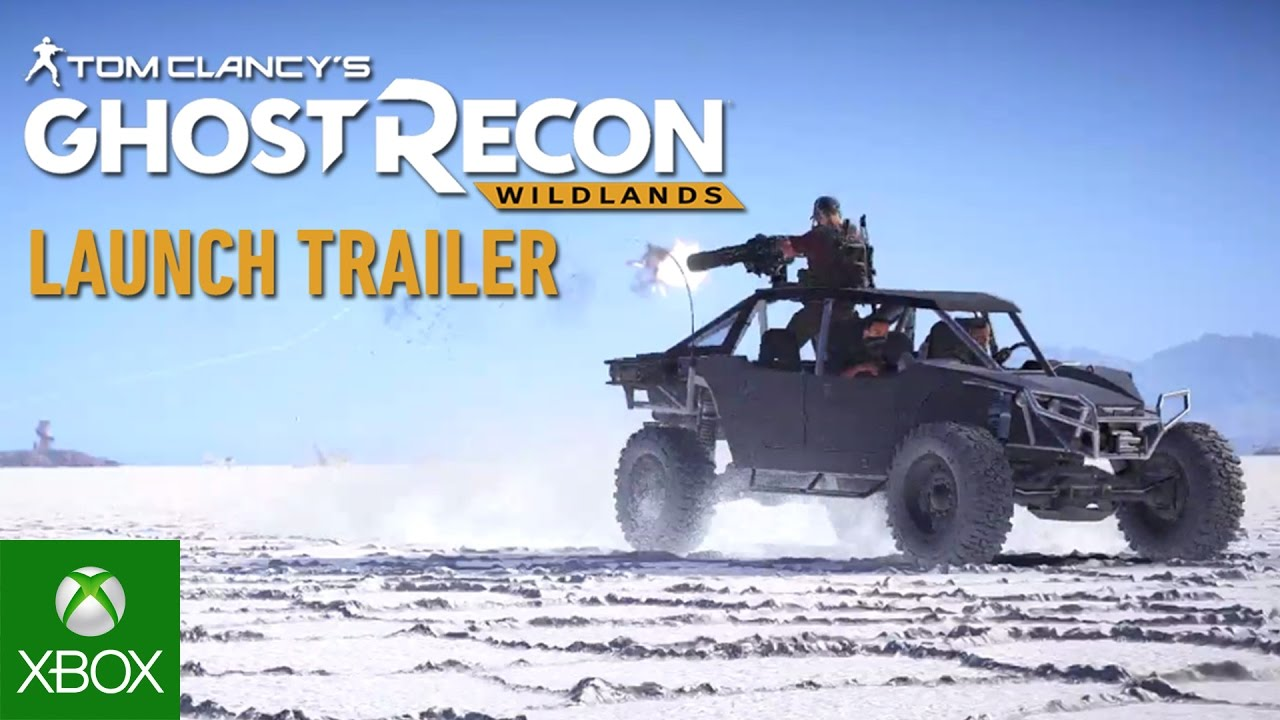 Tom Clancy's Ghost Recon Wildlands launch trailer