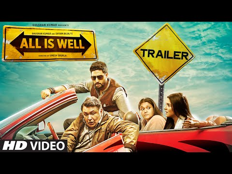 all is well  official trailer   abhishek bachchan  asin  rishi kapoor  supriya   t series