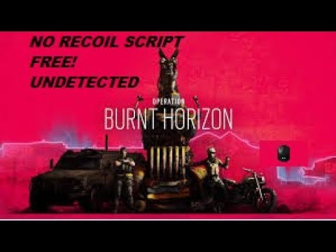 Rainbow Six No Recoil Script Logitech - [NEW VIDEO ONLINE