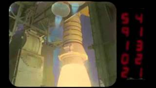 Part 1: Space shuttle launches high-speed video camera slow motion views