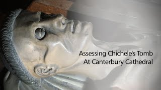 Assessing Chichele's tomb with Dr Christina Welch