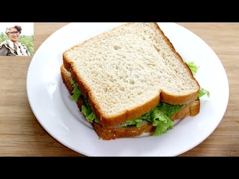 5 Minute Evening Snack - Healthy & Oil Free Easy Potato Sandwich Recipe Weight Loss- Skinny Recipes