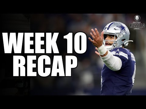 Vikings beat the Cowboys: Week 10 Recap With Chris Long | The Ryen Russillo Podcast