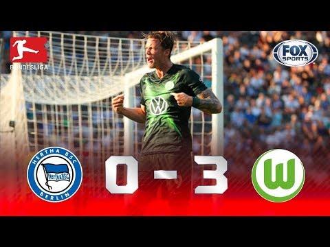 Atropelo em Berlim! Melhores momentos de Hertha Berlin 0x3 Wolfsburg na Bundesliga