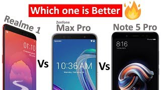 Oppo Realme 1 Vs Asus Zenfone max pro Vs Redmi note 5 pro Comparison & My Opinion - Download this Video in MP3, M4A, WEBM, MP4, 3GP