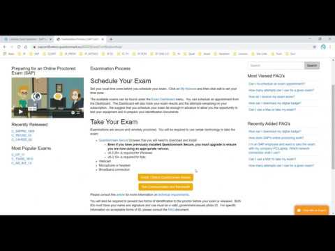 SAP Certification in the Cloud (CER006) - YouTube