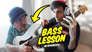 Slap Bass Lesson w/ Davie504