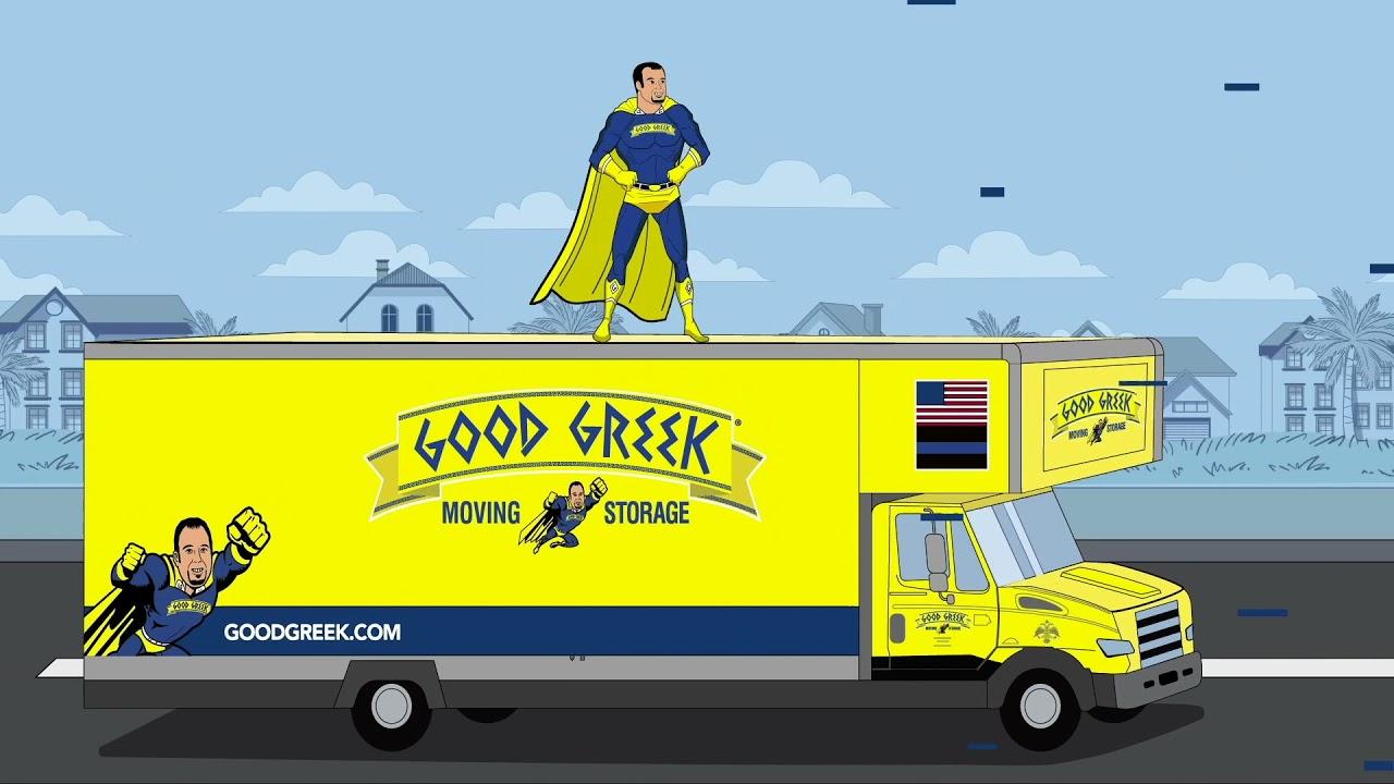Introducing Spero the Hero - Superhero Movers Animated Series - Good Greek Moving & Storage - Ep 1