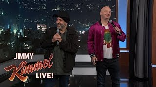 Jeff Ross & David Attell Roast Kimmel Audience