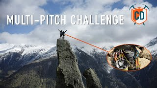 Climbing A Multi-Pitch Tower: Camp Energy CR4 Challenge | Climbing Daily Ep.1742 by EpicTV Climbing Daily
