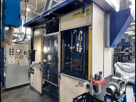 Plasty vstřikovací stroj Inrubb 250VM 2007