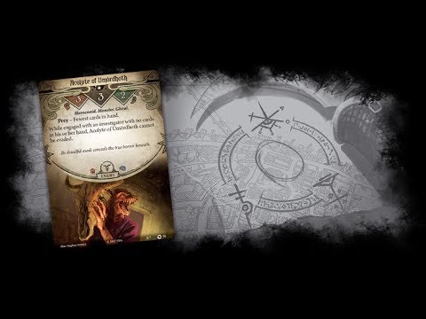 Cambro: Return to the Night of the Zealot player cards - Arkham horror TCG
