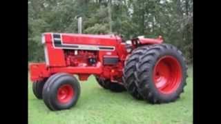 International tractors tribute.