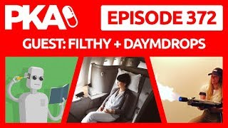 PKA 372 w/Filtly and Daym Drops - Taylor's In ER, Emotional Support Peacock, Air Travel Drama