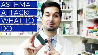 How To Treat An Asthma Attack | What To Do During An Asthma Attack | Inhaler Treatment At Home