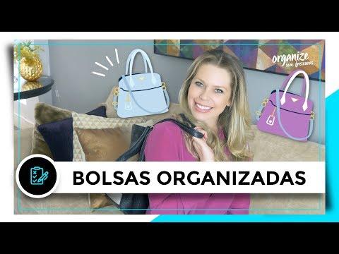 12 IDEIAS PRÁTICAS PARA ORGANIZAR AS BOLSAS