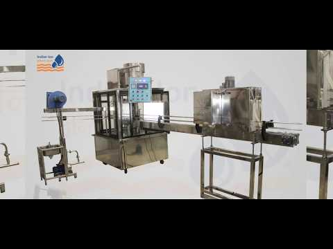 20 BPM Semi Auto Bottling Machine Indian Ion Exchange Chemicals Ltd