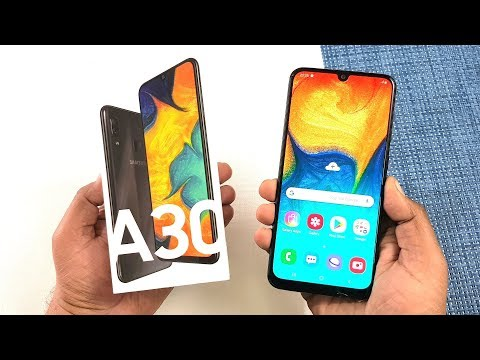 Samsung Galaxy A30 Unboxing & Full Review !!!