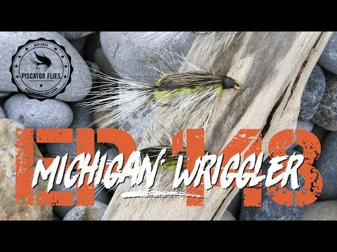 Michigan Wriggler Winter Steelhead Fly (aka Spring Wriggler)