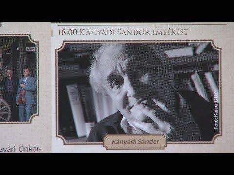 Kányádi Sándor emlékest  - video preview image