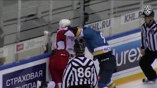 Бой КХЛ: Рахимуллин VS Светлаков