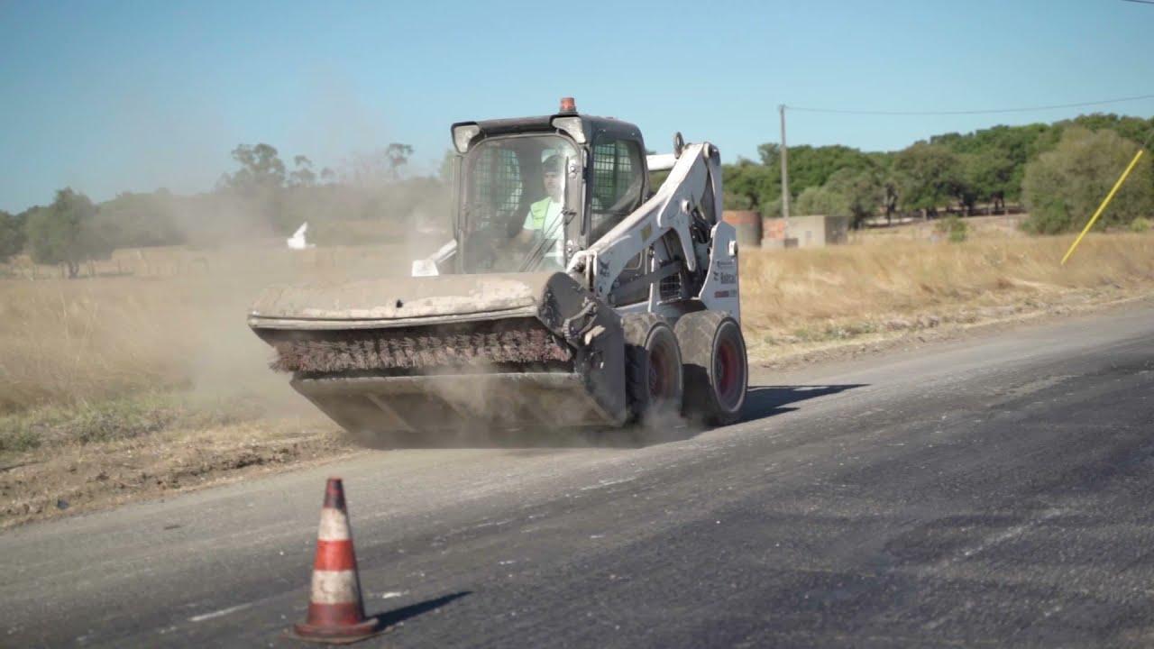 Programa de Repavimentações no concelho da Moita | Obras em curso