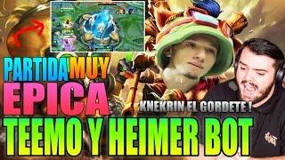IBAI Y KNEKRO Juegan HEIMER Y TEEMO   EL NEXO A 1 DE VIDA!!