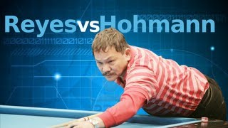 Efren Reyes Vs. Thorsten Hohman at the Super Billiards Expo