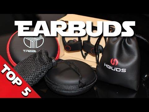 TOP 5 Bluetooth Kopfhörer Test ► Premium Earbuds  unter 25€! (In-Ear-Kopfhörer)