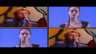 The Rembrandts - Just The Way It Is, Baby (Dual Video)