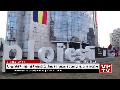 Angajații Primăriei Ploiești continuă munca la domiciliu, prin rotație