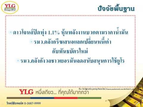 YLG บทวิเคราะห์ราคาทองคำประจำวัน 03-02-15