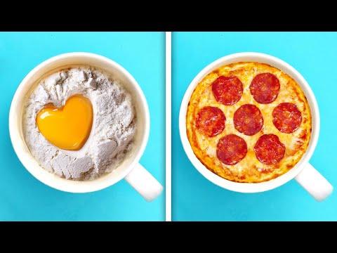 25 Recetas Rápidas y Deliciosas Para Preparar En El Microondas
