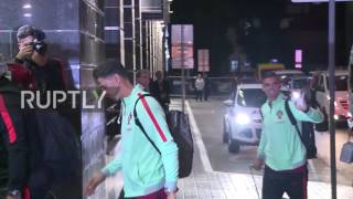 Russia: Ronaldo and teammates arrive in Kazan ahead of Confederations Cup