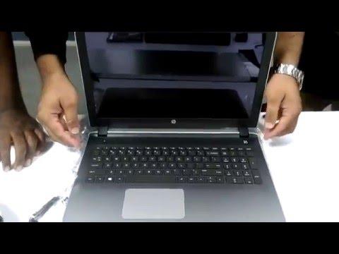 Hp pavilion AMD A8-7410 laptop Unboxing