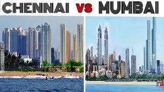 preview picture of video 'CHENNAI vs MUMBAI Full View Comparison (2018) |Plenty Facts |Chennai City vs MUMBAI city | Mumbai'