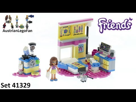 Vidéo LEGO Friends 41329 : La chambre labo d'Olivia