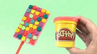 ไอศครีมแป้งโดว์และตัวเลข |ของเล่นเด็ก Play Doh Ice cream - Play Doh Kids Toys Ice Cream  Rainbow