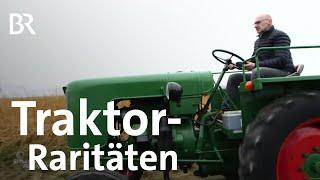 Oldtimer-Liebe zu Schleppern: Funk-Traktoren aus Irgertsheim | Schwaben & Altbayern | BR