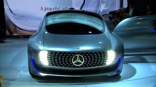 Primer vistazo al F015 Luxury in Motion de Mercedes-Benz