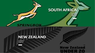 HIGHLIGHTS: South Africa U20 25-17 New Zealand U20