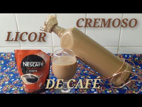 Licor Rápido cremoso de café