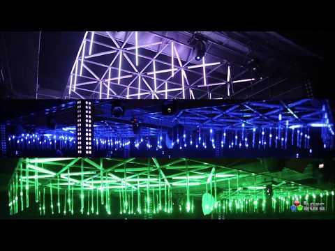 Soho Night Club Pixel Show 3D Vertical Tube Pixel Led