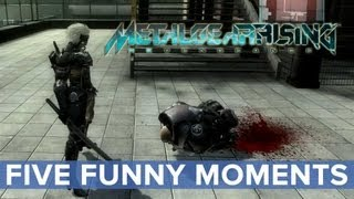 Metal Gear Rising: Revengeance - Five Funny Moments - Eurogamer