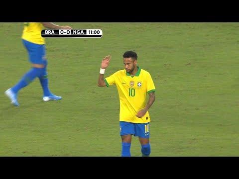 Neymar Jr vs Nigeria | 2019 HD 1080i