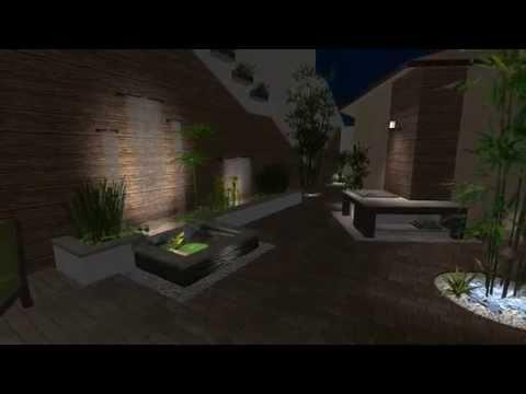Galer a video recorridos virtuales de jardines y for Diseno de jardines y exteriores 3d