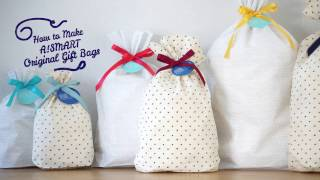 How to Make A!SMART Original Gift Bags