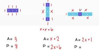 Area and Perimeter with Algebra Tiles