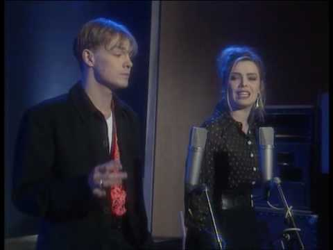 Jason Donovan & Kim Wilde - Harvest For The World (Live Amnesty International's Big 30 1991).VOB