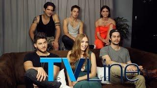 Interview des acteurs par TVLine